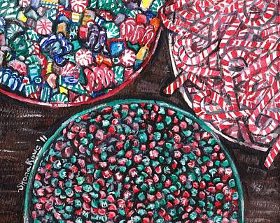 Painting - Christmas Candy by Shana Rowe Jackson