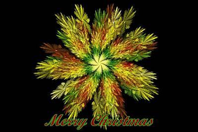 Digital Art - Christmas Card by Sandy Keeton