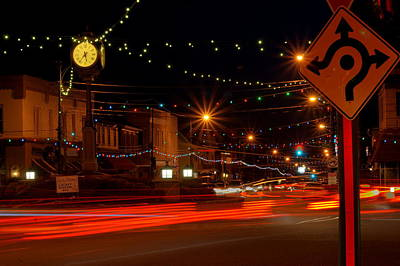 Photograph - Christmas In Columbiana Ohio by David Dufresne