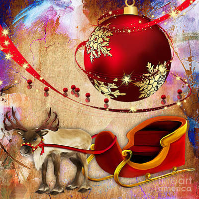Mixed Media - Christmas by Marvin Blaine