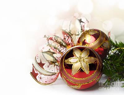 Keith Richards - Christmas Ornaments by Jelena Jovanovic
