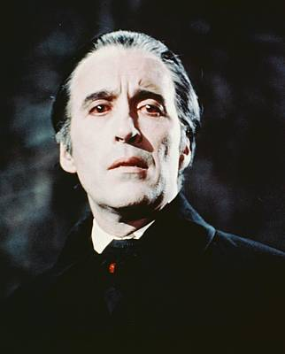 Grave Photograph - Christopher Lee In Dracula Has Risen From The Grave  by Silver Screen
