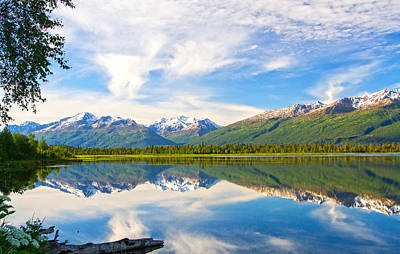 Photograph - Chugach Mountains by Doug Lloyd