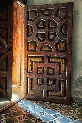 Photograph - Church Entrance In San Miguel De Allende by Nicola Fiscarelli