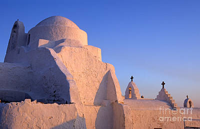 Photograph - Panagia Paraportiani Church In Mykonos by George Atsametakis