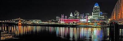 Photograph - Cincinnati Skyline 3 by Jeff Brunton