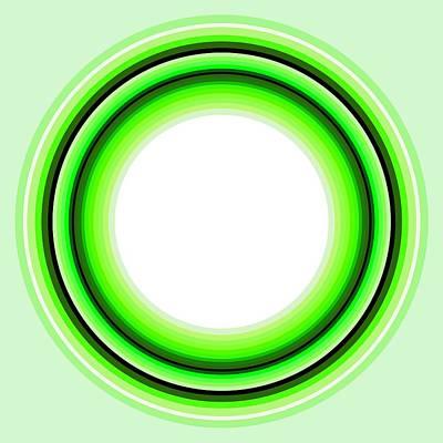 Tribal Art Painting - Circle Motif 145 by John F Metcalf
