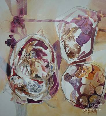 Painting - Circles by Donna Acheson-Juillet