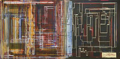 Circuit City Art Print by Jack Diamond