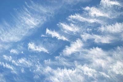 Cirrus Clouds Art Print
