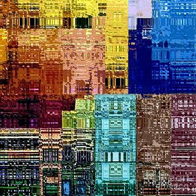 Digital Art - Citiscape by Dale   Ford