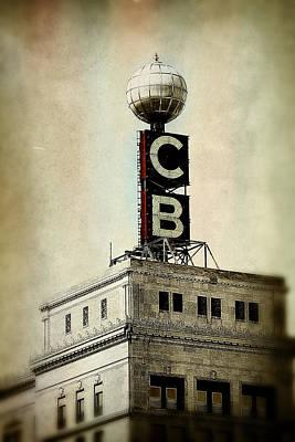Photograph - Citizen's Bank Weather Ball by Scott Hovind