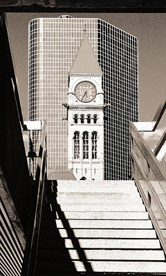 Grain Photograph - City Hall by Arkady Kunysz