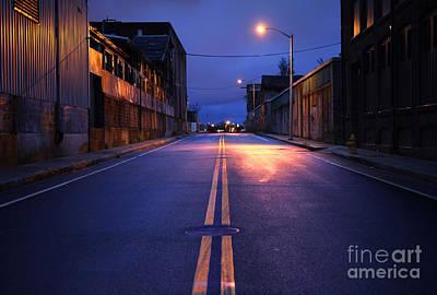 Ghetto Photograph - City Street by Denis Tangney Jr