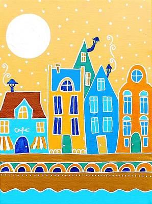 Painting - Citystroll One by Stefanie Stark