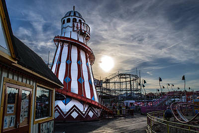 Photograph - Clacton Pier by Andrew Lalchan