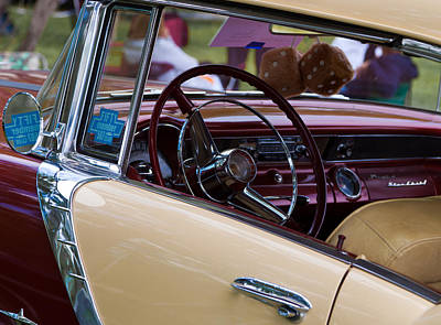 Art Print featuring the photograph Classic American Car by Mick Flynn