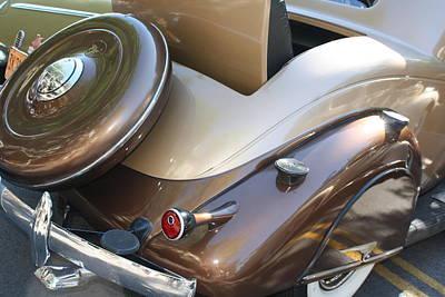 Classic Antique Car- Detail Original