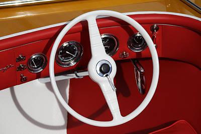 Classic Speedboats Art Print by Steven Lapkin