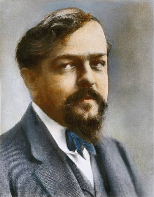 Lapel Photograph - Claude Debussy (1862-1918) by Granger