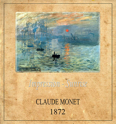 Photograph - Claude Monet 2 by Andrew Fare
