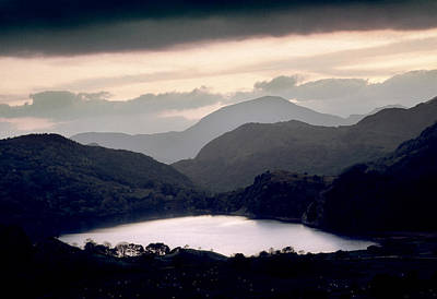 Photograph - Clearing Storm Nant Gwynant by Peter OReilly