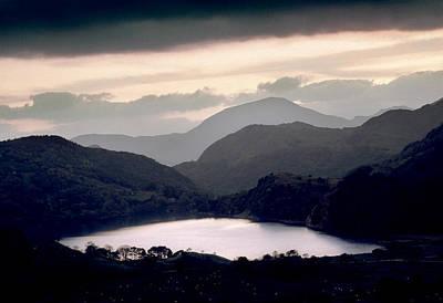 Llyn Gwynant Photograph - Clearing Storm Nant Gwynant by Peter OReilly