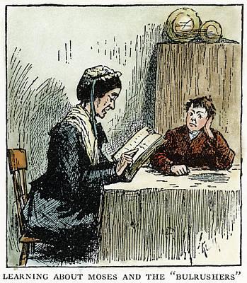 Douglass Drawing - Clemens Huck Finn, 1885 by Granger