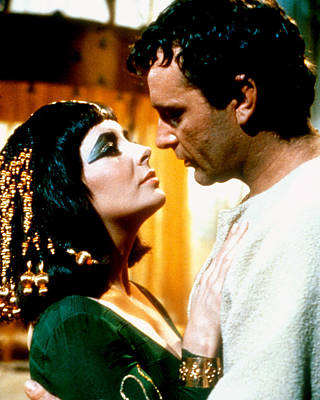 Elizabeth Taylor Photograph - Cleopatra  by Silver Screen