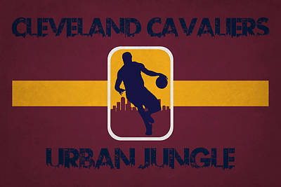 Cleveland Cavaliers Art Print by Joe Hamilton