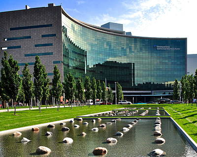 Photograph - Cleveland Clinic by Frozen in Time Fine Art Photography