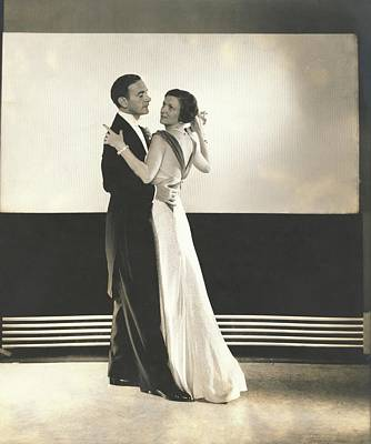Photograph - Clifton Webb And Irene Castle Dancing by Edward Steichen