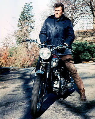 Clint Photograph - Clint Eastwood In Coogan's Bluff  by Silver Screen