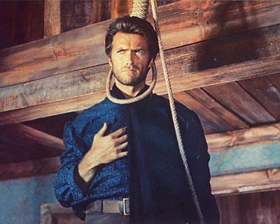Clint Eastwood In Il Buono, Il Brutto, Il Cattivo Art Print