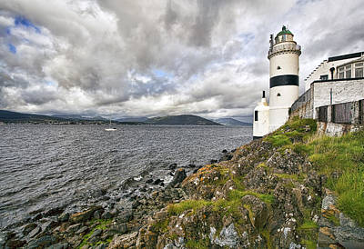 Gorgeous Photograph - Cloch Lighthouse by Marcia Colelli