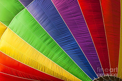 Photograph - Closeup Of An Hot Air Balloon by Don Landwehrle