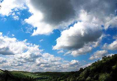 Clouds Art Print by Optical Playground By MP Ray