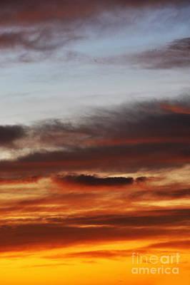 Photograph - Cloudscape At Sunrise by Sami Sarkis