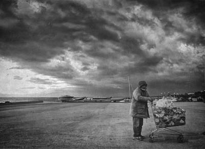 Poor People Photograph - Cloudy Now by Taylan Apukovska