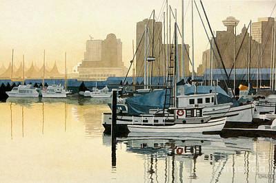 Coal Harbour Art Print
