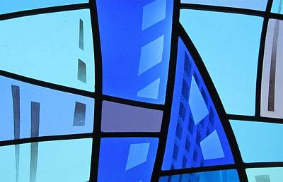 Glass Art - Coal Harbour Triptych Part 1 by Gilroy Stained Glass