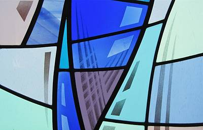 Glass Art - Coal Harbour Triptych Part 2 by Gilroy Stained Glass