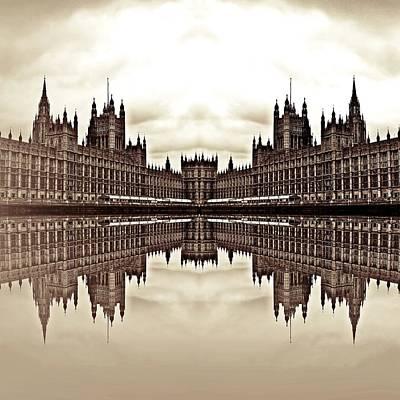Political Mixed Media - Coalition by Sharon Lisa Clarke
