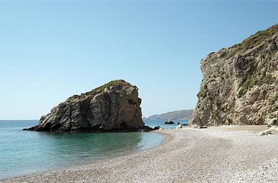 Sea Arch Photograph - Coastal Erosion by David Parker