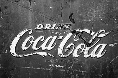 Coca-cola Sign Print by Jill Reger