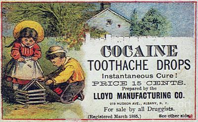 Cocaine Medicine Ad, 1885 Art Print