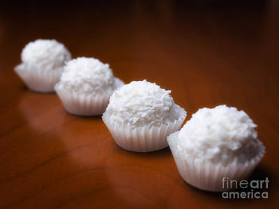 Cooky Photograph - Coconut Balls by Sinisa Botas