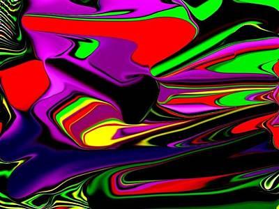 Etc. Digital Art - Colorful 3d by HollyWood Creation By linda zanini