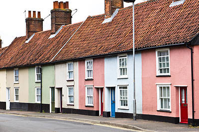 Neighbourhoods Photograph - Colorful Houses by Tom Gowanlock