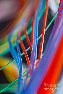 Photograph - Colorful Lab Tubes by Charlotte Raymond